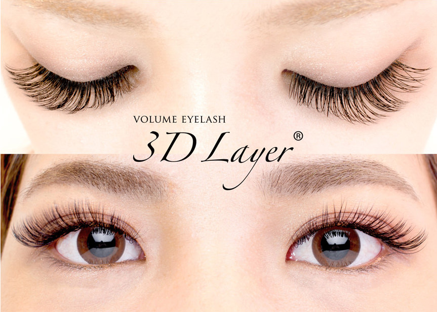 VOLUME EYELASH3D Layer